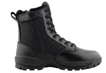 Zipper Work Boots