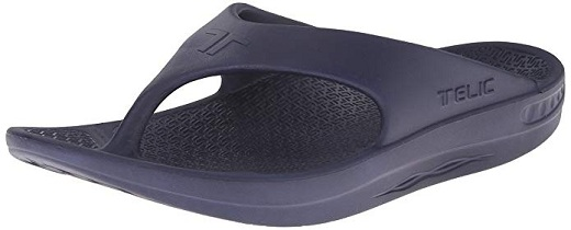 baff60a82500ed Another great unisex option for sandals for plantar fasciitis is the Telic  Flip Flop Sandal Shoes. These sandals mirror typical flip flops