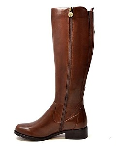 ad94d6bae02 SoleMani Venetian Women s Leather Boots with Extra Slim Calf (12-13″ Calf  Size) – View Reviews On Amazon